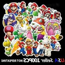 Mario Stickers Cardecal