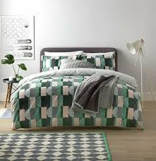 argos home geo squares printed bedding