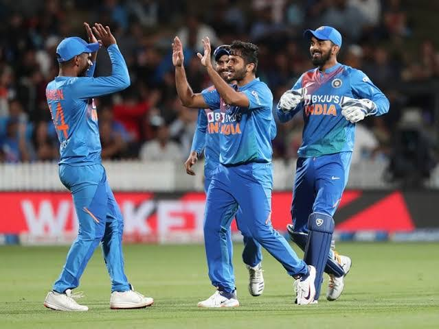 Image result for Shardul Thakur vs NZ 4th T20I""