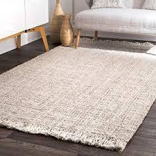 chunky loop jute rug