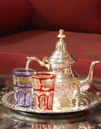 moroccan handmade tea set 2 moroccan