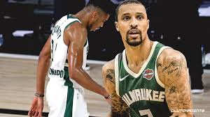 Bucks news: George Hill reveals what Giannis Antetokounmpo said right after  injuring ankle again
