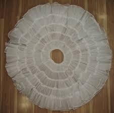 Vintage White Full Petticoat by Nita Smith Slip CanCan Square   Etsy