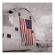 Designs Direct Patriotic Barn 16 X 16 In Canvas Wall Art At Tractor Supply Co