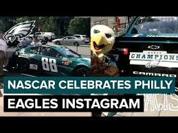 Nascar Behind The Scenes Of Eagles No 88 Car Unveiling Instagram Story Youtube