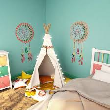 Dream Catcher Wall Stencil Kids Room Decor Stencil Dream Catcher S Stencilslab Wall Stencils