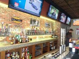 half wall beer house picture of the