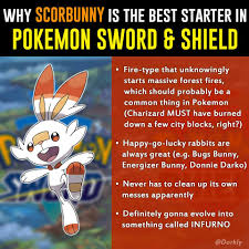 Dorkly - This is why Sobble is the safest choice in...