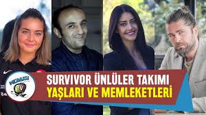 Survivor 2020 Ünlüler Takımı Yarışmacıları Gerçekte Kim? - YouTube