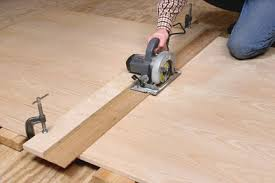 Jigs For Making Straight Cuts With A Circular Saw