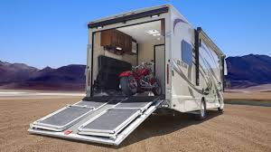 toy haulers motorhomes with garage