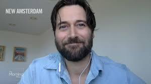 Ryan Eggold talks 'New Amsterdam' and first responders | Watch News Videos  Online
