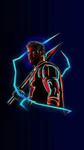 thor neon avengers infinity war