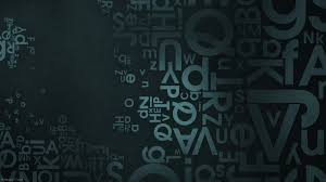 46 letters wallpaper for laptop on