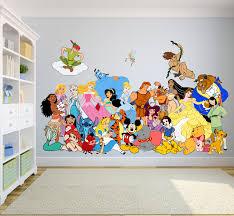 Cartoon Characters Walt Disney Show Decors Wall Sticker Art Design Decal For Girls Boys Kids Room Bedroom Nursery Kindergarten House Fun Home Decor Stickers Wall Art Vinyl Decoration 12x20 Inch Walmart Com
