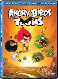 Angry Birds Toons: Season Two Volume Two DVD Box Set 43396465541 ...