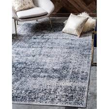 abbeville oriental navy blue area rug