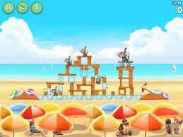 Angry Birds Rio Beach Volley Star Bonus Walkthrough Level 7 ...