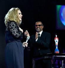 Adele and George | George michael, George michael music, George michael wham