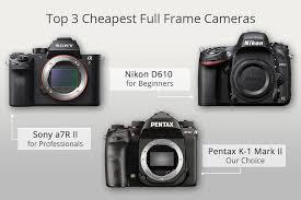 10 est full frame cameras review