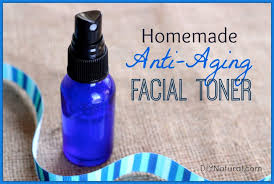homemade toner natural anti aging face