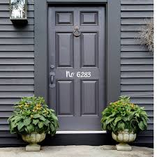 Custom House Number Vinyl Door Decal Door Decal Door Etsy In 2020 Custom House Numbers Vinyl Door Decal Vinyl Doors