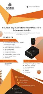 Circuitcell Buy Invisible Fence Brand Compatible Rechargeable Batteries