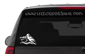 Car Truck Graphics Decals Tribal Shark Vinyl Decal Car Truck Boat Window Body Sticker Auto Parts And Vehicles