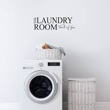 Laundry Room Loads Of Fun 23 X 7 Vinyl Wall Decal Sticker Art Imprinted Designs
