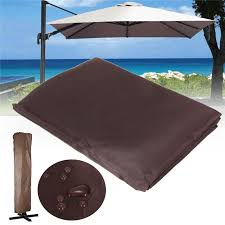 260x70cm brown waterproof garden patio