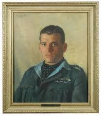 Portrait of Wing Commander James Edgar Johnnie Johnson by Leonard ...