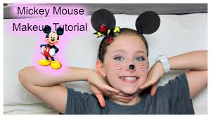 mickey mouse makeup tutorial you