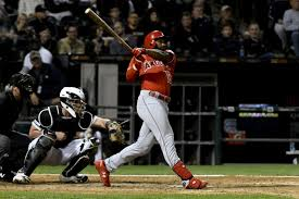 Brian Goodwin and Justin Upton homer in Angels' win over White Sox - Los  Angeles Times