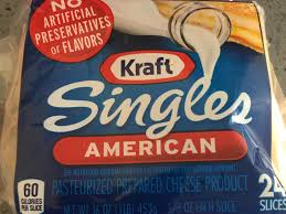 singles american cheese nutrition