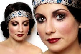 20s flapper makeup tutorial for