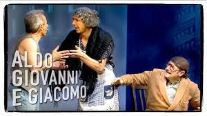 Anplagghed - Il Terremoto | Aldo Giovanni e Giacomo - YouTube