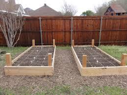 how to start vegetable garden in texas