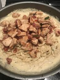Chicken and Shrimp Carbonara Recipe ...