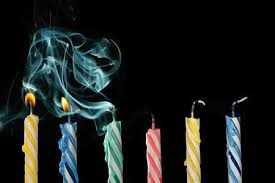 Image result for birthday candles blown out