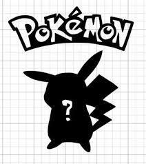 Custom Who S That Pokemon Vinyl Decal Etsy