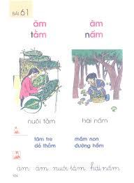 Bài 61. ăm, âm - Sách Giáo Khoa Tiếng Việt lớp 1 Tập 1 - Sách Lớp 1