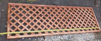 Diamond Lattice Trellis Panel W 1 83m H 0 61m Pack Of 5 Departments Diy At B Q