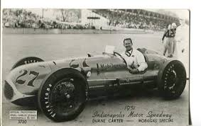 Duane Carter #27 O'Dell-Shields Studios Photo Postcard #3720 Indianapolis  at Amazon's Sports Collectibles Store