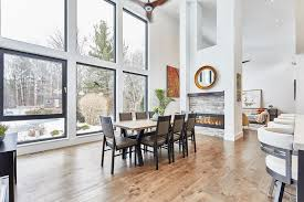 whitby home has two y ceilings