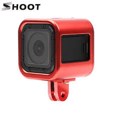 SHOOT CNC Aluminum Alloy Protective Frame Case for Gopro Hero 5 4 Session  Action Camera Metal Mount for GoPro Session Accessory|for gopro hero|gopro  aluminium casesession case - AliExpress