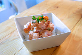 spicy ahi poke, inspired by foodland ...