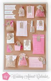 how to make a wedding advent calendar
