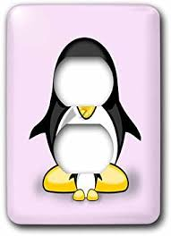 3drose Lsp 215173 6 Parent With Penguin Baby Pink Decoration Kids Room 2 Plug Outlet Cover Multicolor Amazon Com