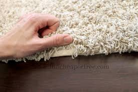 an area rug out of remnant carpet