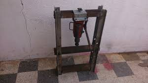 diy hydraulic press made from junk